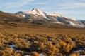 High Mountain Peak Great Basin Region Nevada Landscape Royalty Free Stock Photo