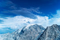 High mountains Royalty Free Stock Photos