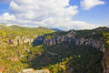 High mountains in spain panoramic view of Royalty Free Stock Image