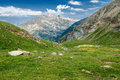 High mountains in spain panticosa spanish pyrenees Stock Photo