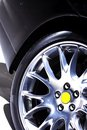 High performance winter tire Royalty Free Stock Photography