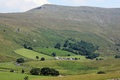 High Pike Hill, Mallerstang Edge, Birkett Bottom Royalty Free Stock Photo