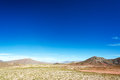 High plains landscape in bolivia view of the southern near uyuni Stock Images
