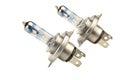 High Power H4 55w/60w +130% Car Head Light Bulb Isolated Royalty Free Stock Photo