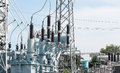 High power station for making Electricity Royalty Free Stock Photo