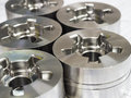 High precision automotive machining mold and die parts of forging process Stock Photo