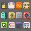 High quality audio icon the vector Stock Photo