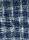 Cotton Fabric Texture - Blue & White Mesh Royalty Free Stock Photo