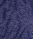 High resolution close up dark blue cotton fabric scanned dpi using professional epson v scanner Royalty Free Stock Photos