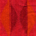 High resolution close up pink red orange towel cloth scanned dpi using professional epson v scanner Royalty Free Stock Photos