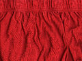 High resolution close up red cotton fabric scanned dpi using professional epson v scanner Royalty Free Stock Photo