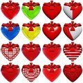 High resolution heart isolated Royalty Free Stock Photography