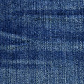 High resolution scan blue denim fabric Stock Photo