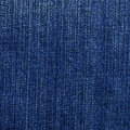 High resolution scan blue denim fabric Stock Images