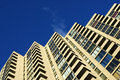 High rise apartment building Royalty Free Stock Images