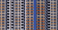 High Rise Apartment Buildings Royalty Free Stock Photos