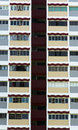 High rise apartments close up of a Royalty Free Stock Photography