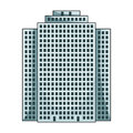 High-rise building, skyscraper,Realtor single icon in cartoon style vector symbol stock illustration web. Royalty Free Stock Photo