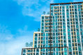 A high rise condominium tower Royalty Free Stock Photo