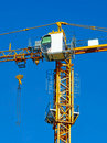 High-rise crane Royalty Free Stock Images