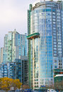 High rise glass tower Royalty Free Stock Image