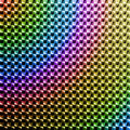 High saturation colored hologram sticker design Royalty Free Stock Photo