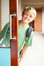 High school boy Royalty Free Stock Photos
