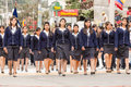 High School Girls Sad Faces Royalty Free Stock Photo