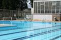 High School Pool Royalty Free Stock Photo