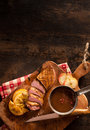 High size duck breast image for food concepts Royalty Free Stock Photo