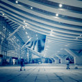 High speed ​​rail station in shenzhen china Royalty Free Stock Images