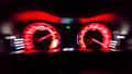 High speed car meter Royalty Free Stock Photo