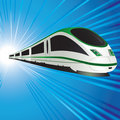 High-speed train Royalty Free Stock Photo
