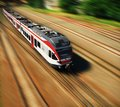 High-speed train Royalty Free Stock Photo