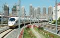 High speed train of China Royalty Free Stock Photo