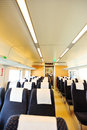 High speed train interior from guangzhou to shenzhen in china Stock Images