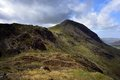 High Stile and Crag ridge Royalty Free Stock Photo