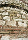 High stone wall Stock Photography