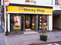 High Street Money Shop Stock Image