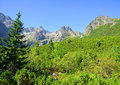 High Tatra Mountains, Slovakia Royalty Free Stock Photo