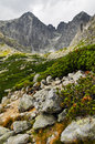 High Tatra mountains view Stock Photos