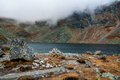 High Tatras - The big Hinc tarn
