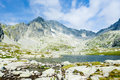 High Tatras Mountains Stock Image