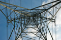 High-tension pylon Stock Photos