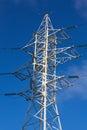 High-voltage column Stock Photo