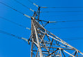 High voltage electricity pylon Stock Photography