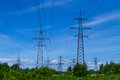 High voltage line Royalty Free Stock Photo