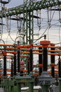 High voltage switch Royalty Free Stock Photo