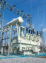 High voltage transformer Royalty Free Stock Photo