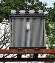 High voltage transformer Royalty Free Stock Photo